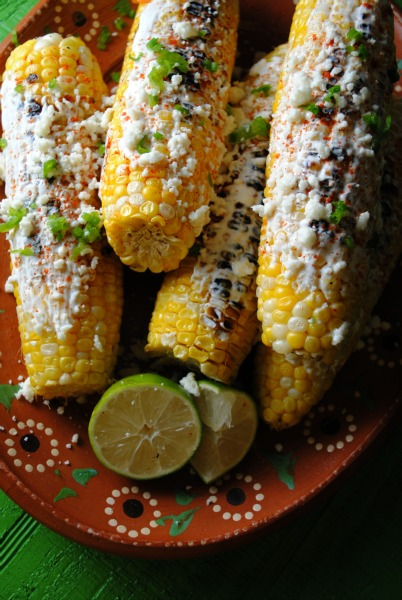 Mexican Roasted Corn, Elotes