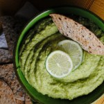 Avocado Hummus – Humus de Aguacate recipe from sweetlifebake.com