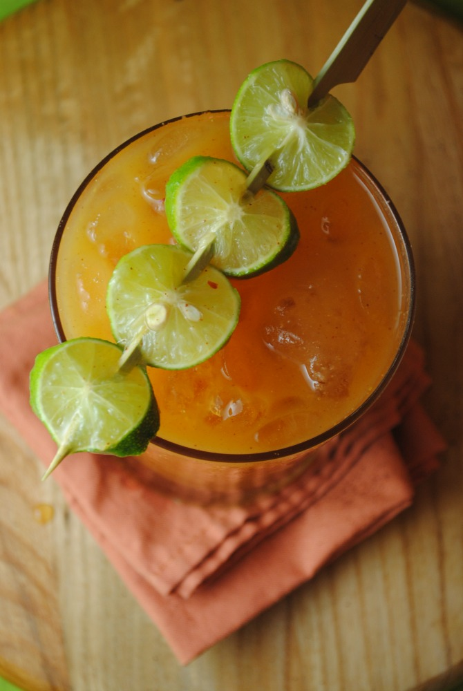 Chamoy Mango Sunrise sweetlifebake.com