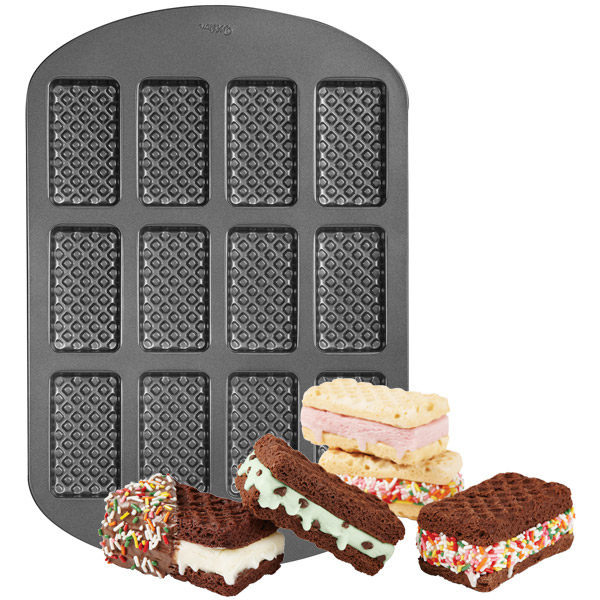 Wilton Ice cream sandwhich pan