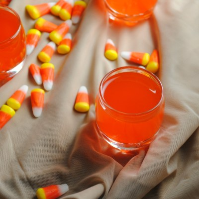 Candy Corn Infused Tequila