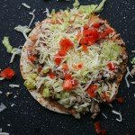Easy Mexican Pizza