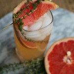 Grapefruit Thyme Mocktail