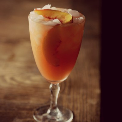 Peach Bourbon Lemonade