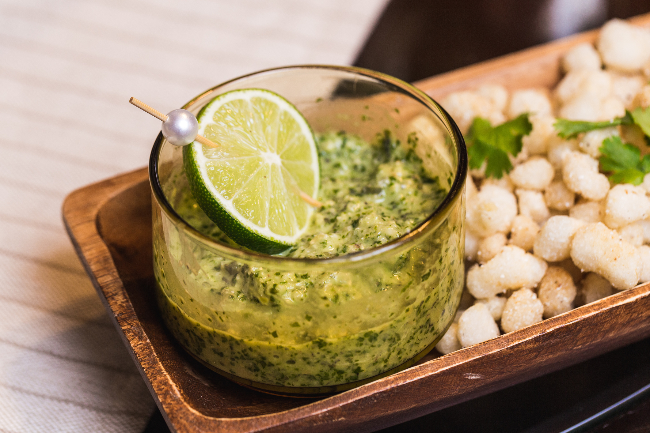 Cilantro And Pepita Pesto Recipe — Dishmaps