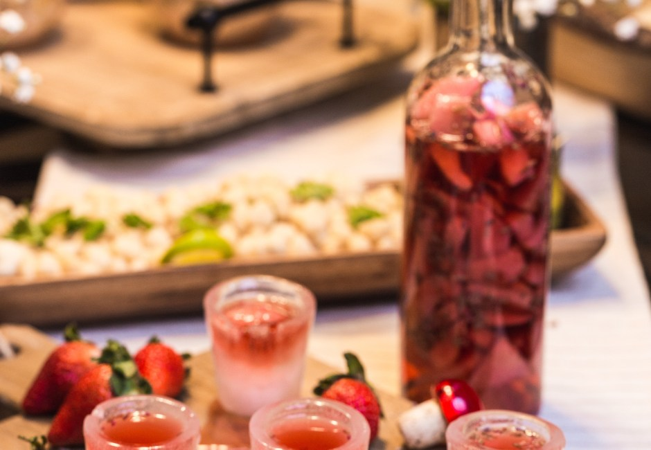 How to Make Strawberry Lavender Infused Tequila