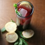 Red Wine Guava Spritzers