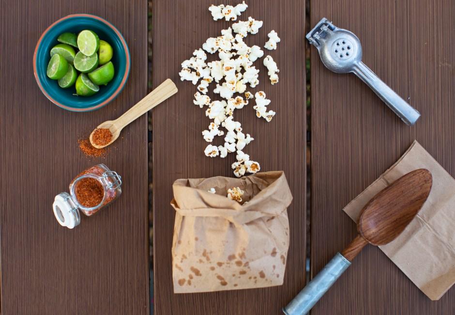 Chili-Lime Popcorn