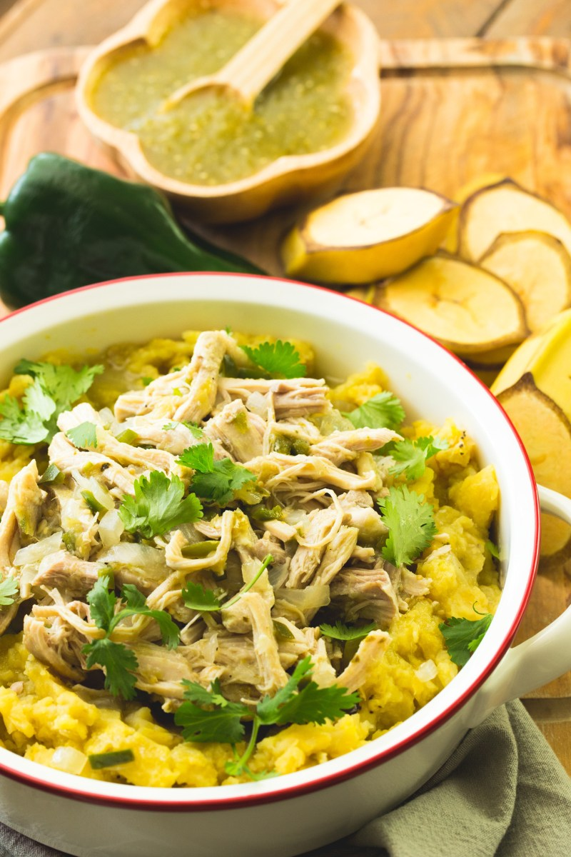 Tex-Mex Chicken Mofongo