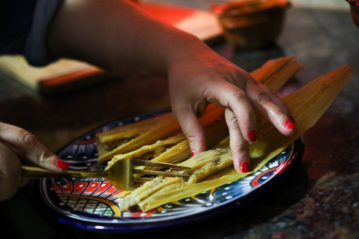 Tamalada con La Michoacana - Homemade Pork Tamales
