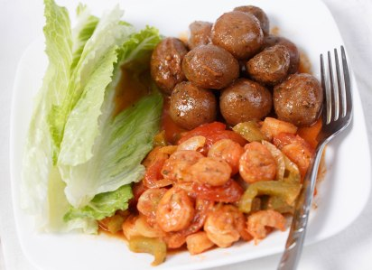 Shrimp and baby potatoes-1-2