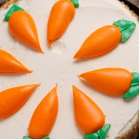 Appetizing And Delicious Carrot Cake