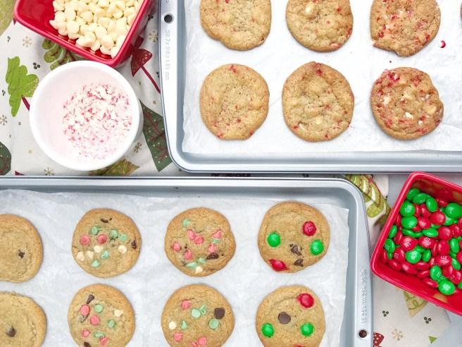 Christmas Chocolate Chip Cookies