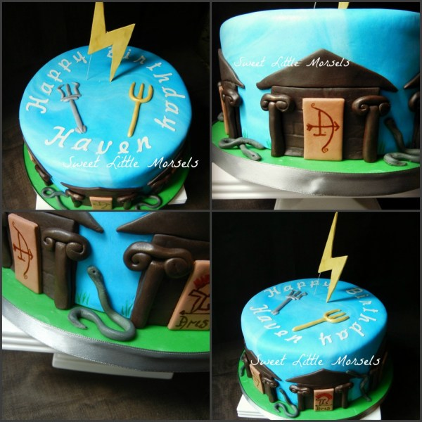 20 Percy Jackson Birthday Cake Decorations Pictures And Ideas On Weric