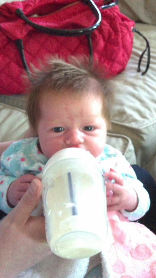 baby formula fed