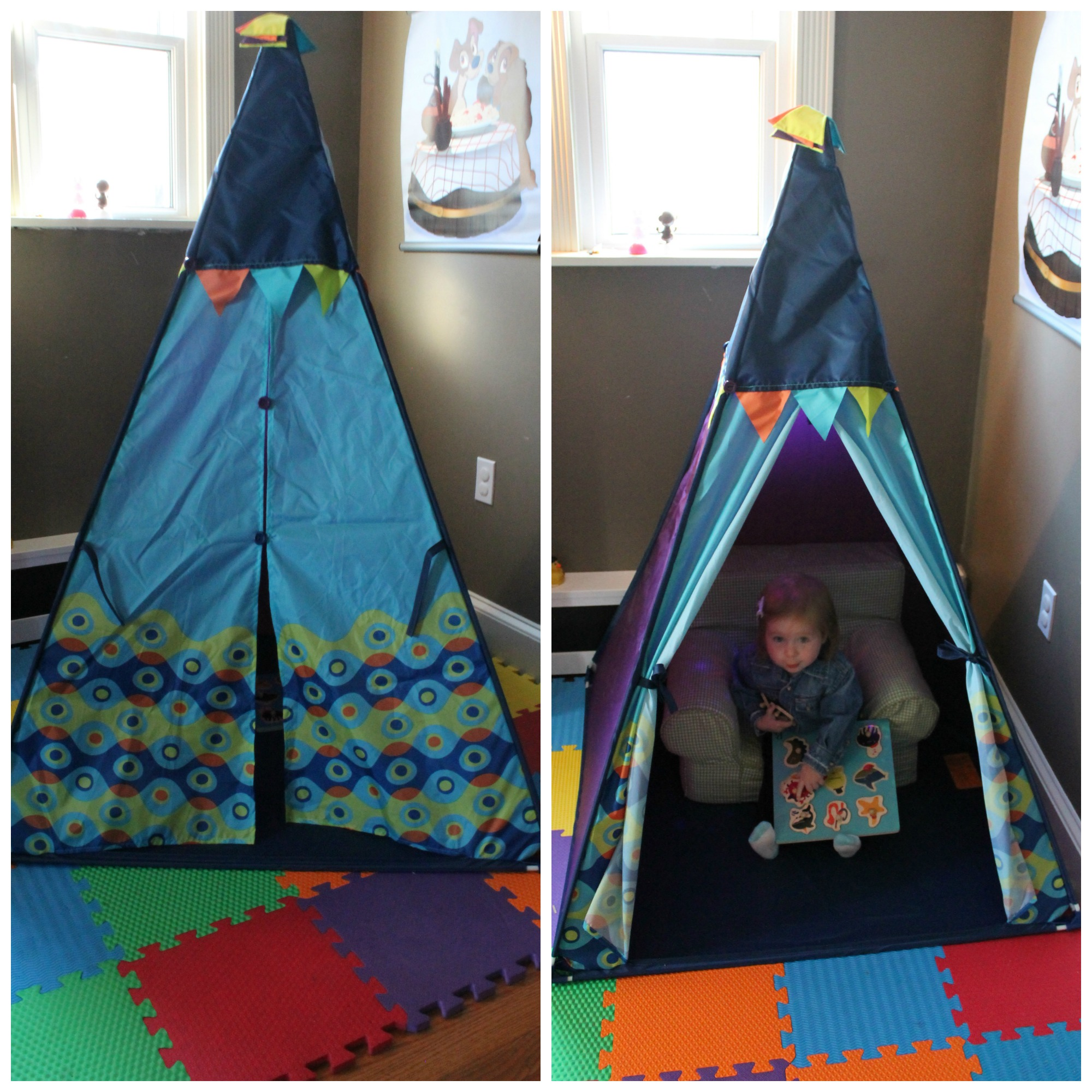 As soon as she saw it Avery ran right inside! The B.Teepee ...  sc 1 st  sweet lil you & Just B. You! B. Teepee u0026 Puzzle Review! - sweet lil you