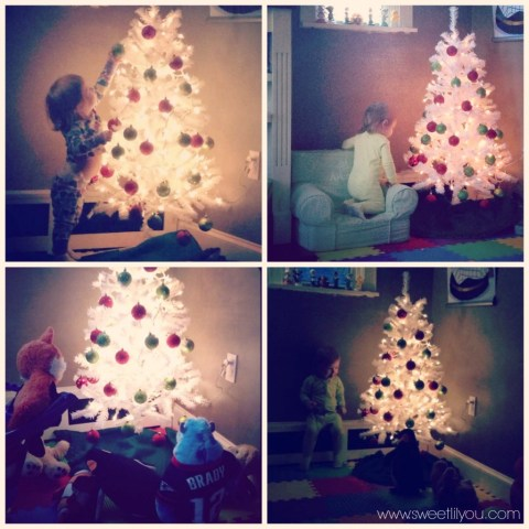 Avery's Christmas tree