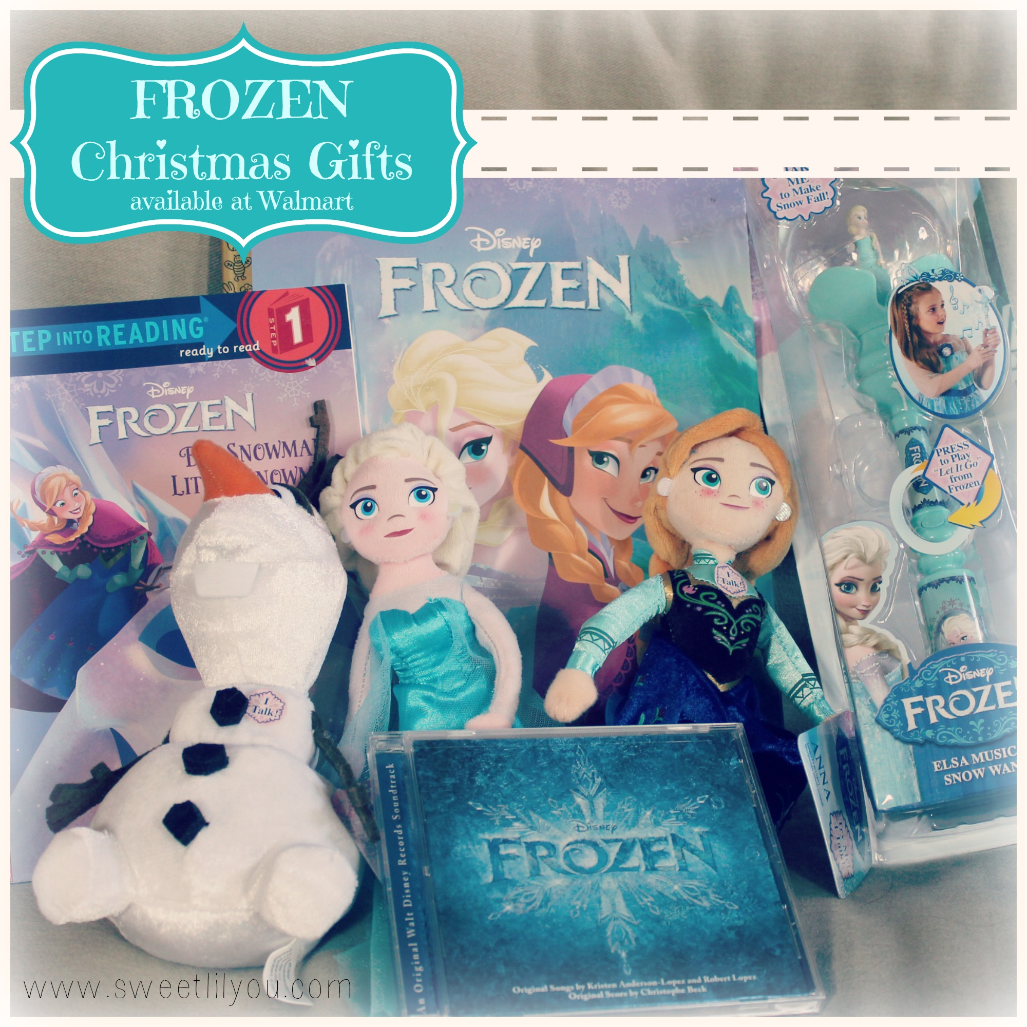 A FROZEN Holiday! #FROZENfun at Walmart! - sweet lil you