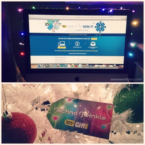 Give It To WIn It Gift Cards at Best Buy #OneBuyForAll #shop #cbias