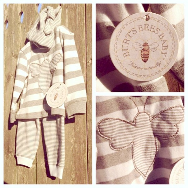 Burt's Bees Baby apparel at babies R Us organic cotton