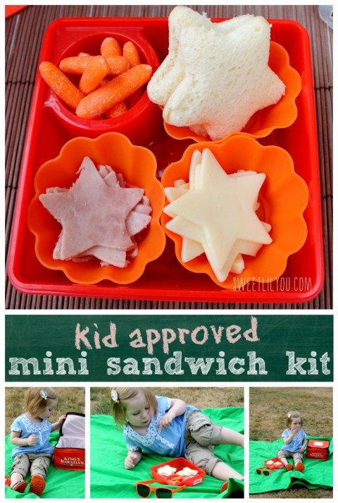 Kid approved mini sandwich kit #lunchboxfun