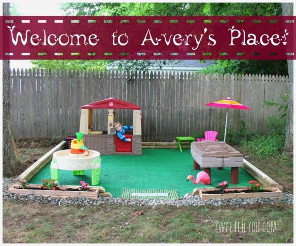 DIY Kids Outdoor Play Area Ideas