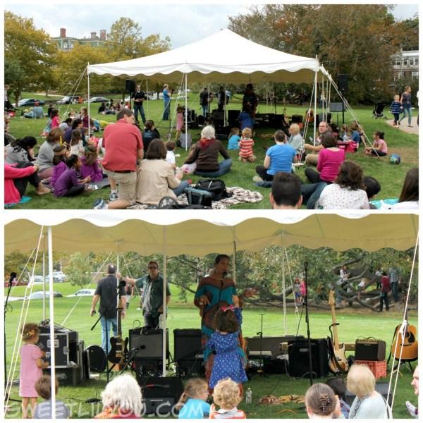 Storytellers tent music family Providence RI
