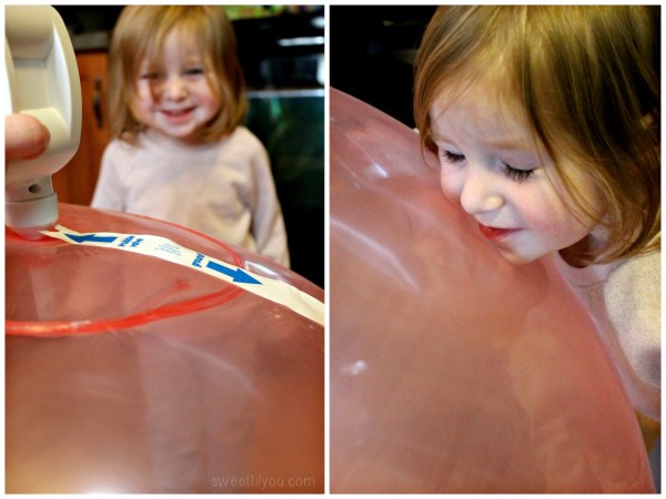 Wubble Ball inflated