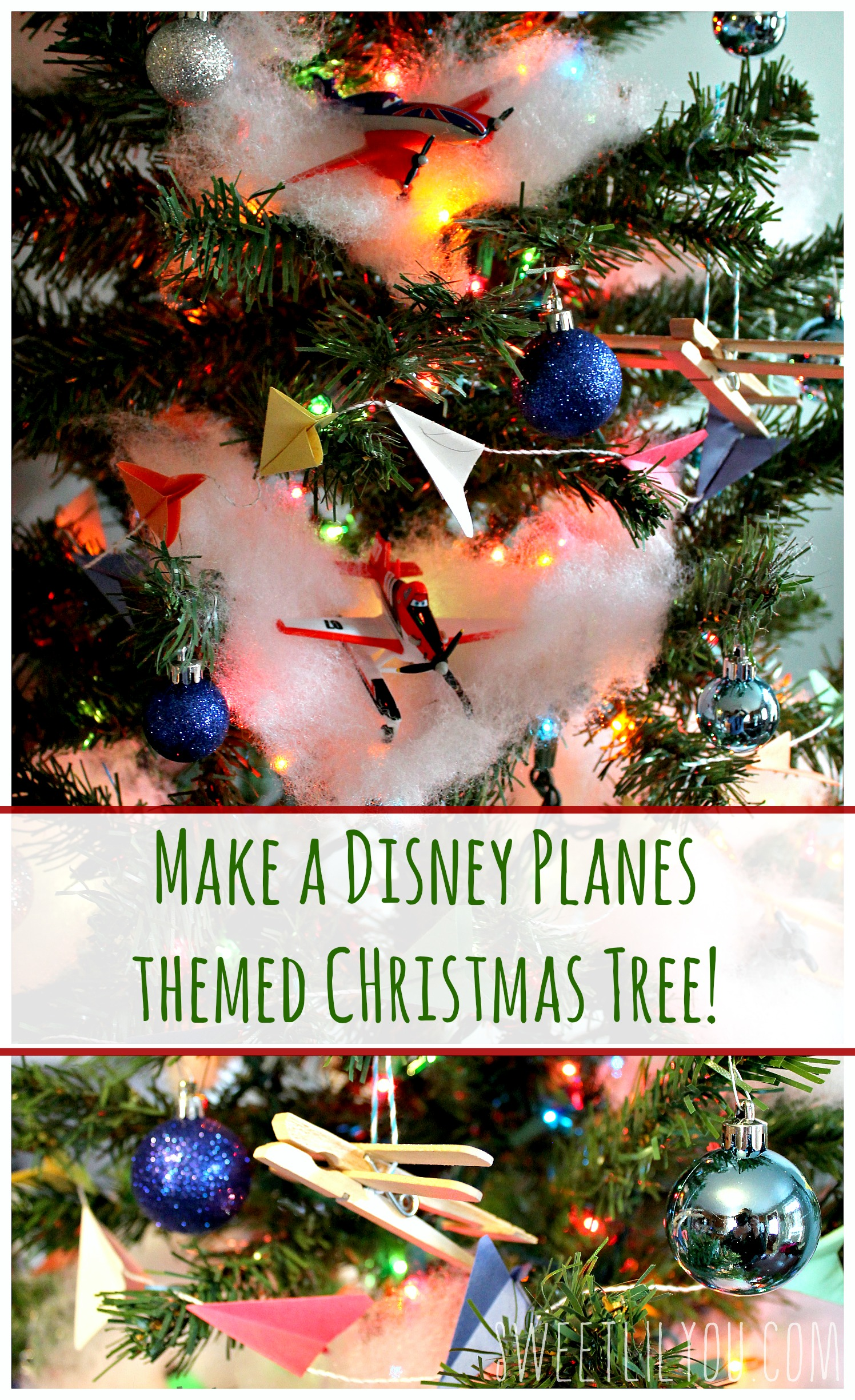 Disney Planes Themed Christmas Tree PlanesToTheRescue