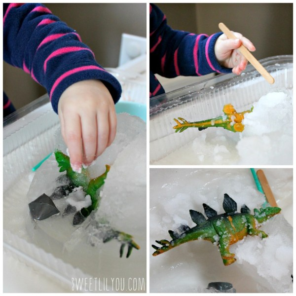 Digging out the dinosaur
