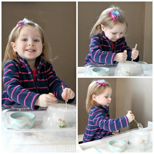 Fun indoor toddler activities sensory play