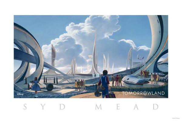 Disney's Tomorrowland concept art
