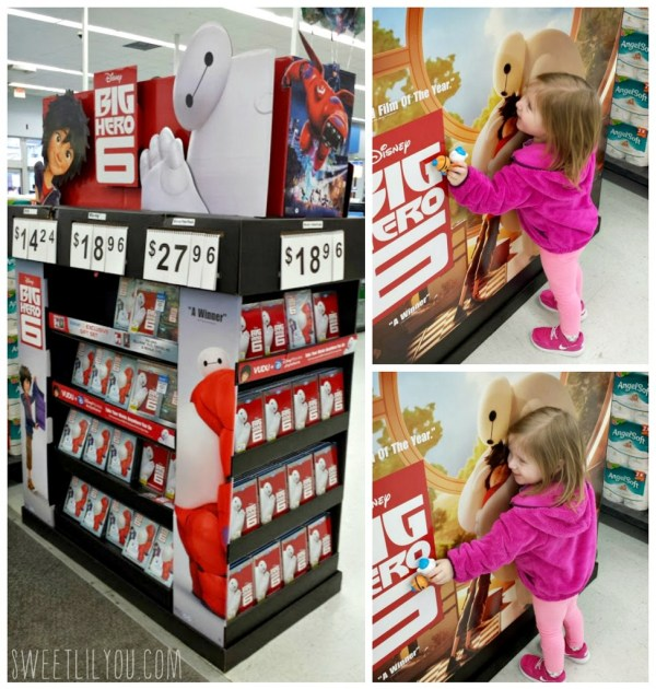 Big Hero 6 Walmart Exclusive 2 pack gift with purchase