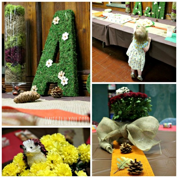 rustic wedding shower