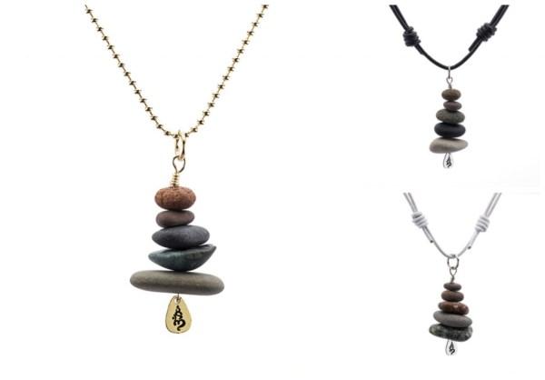 Omstacks GEOstacks necklaces and bracelets