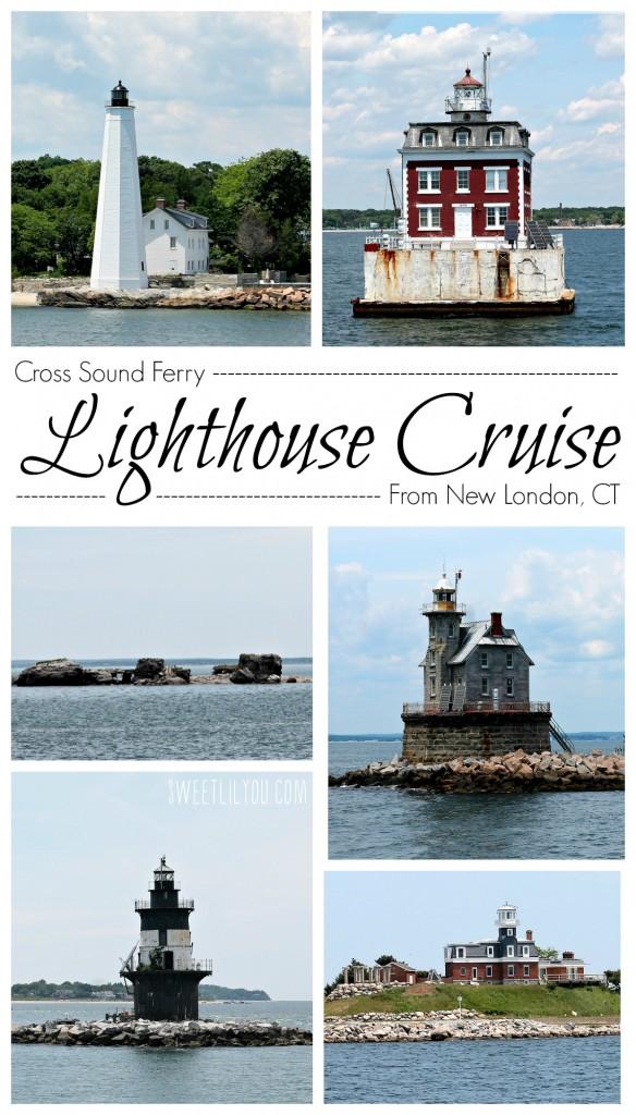 Cross Sound Ferry Lighthouse Cruise New London, CT Long Island Ferry