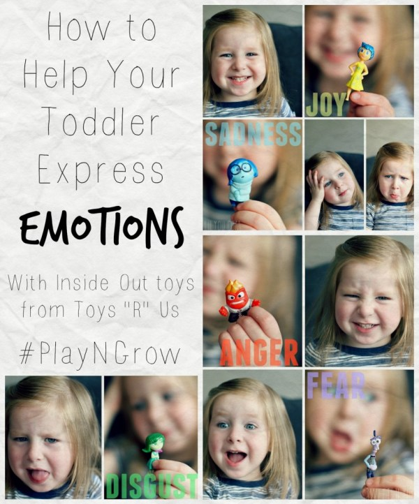 How to help your toddler express emotions #PlayNGrow Inside Out movie toys