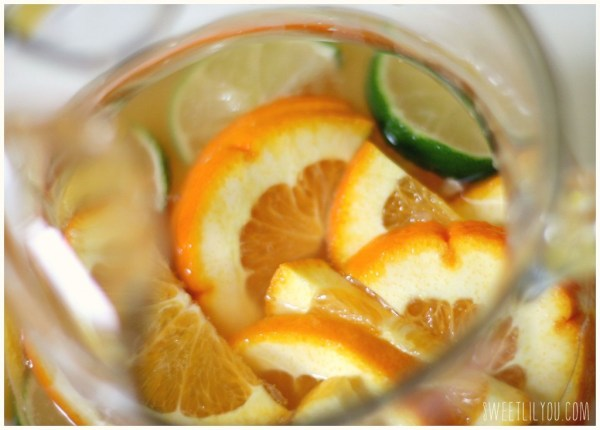 Citrus fruit sangria