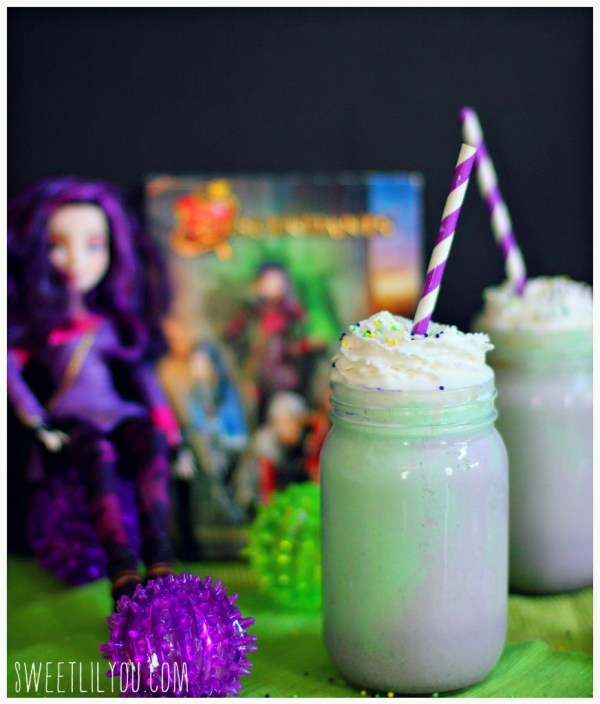 Mal from Disney's Descendants - Milkshake recipe