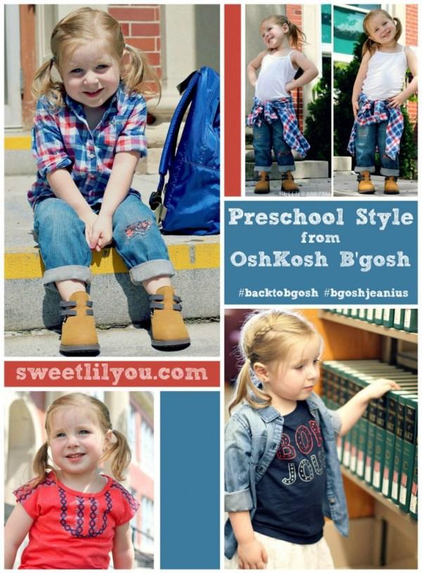 Preschool Style from OshKosh B'Gosh #backtobgosh #bgoshjeanius {ad}