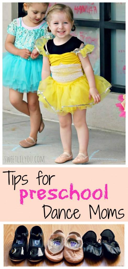 Tips for Preschool Dance Moms