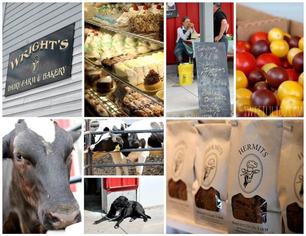 Wright's Dairy Farm & Bakery #BlackStone Valley