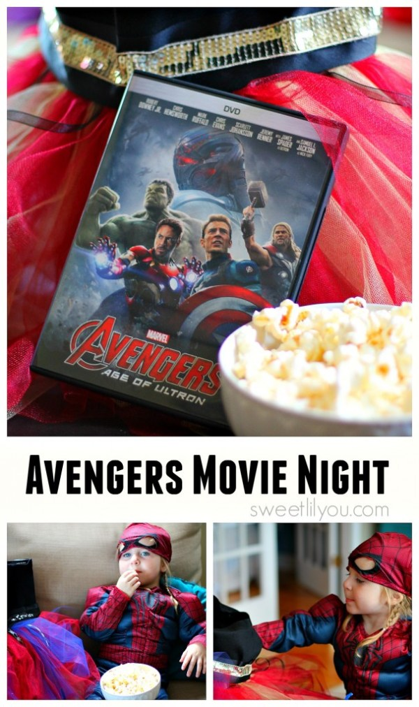 Avengers Movie Night at Home #AvengersUnite (ad)