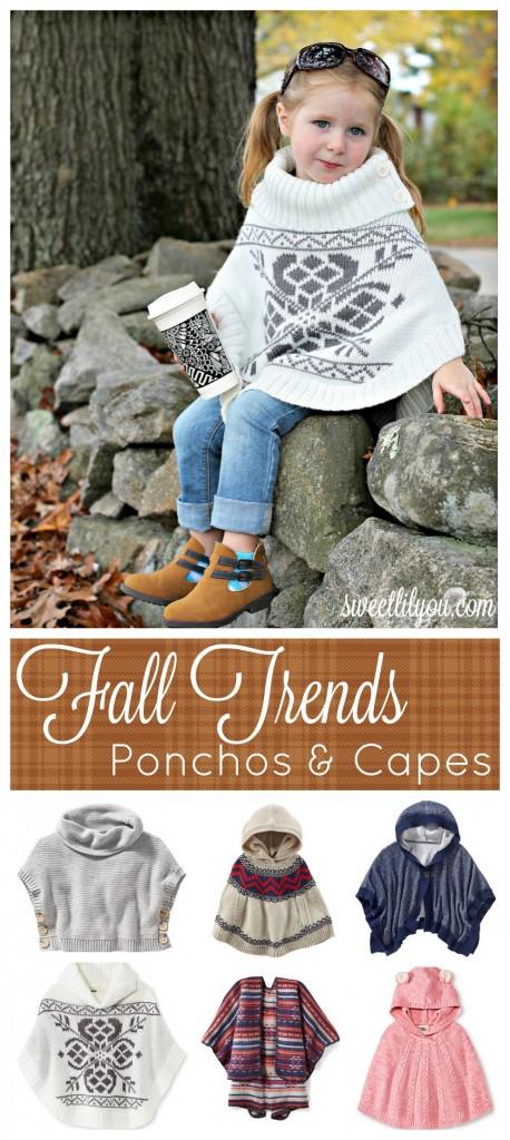 Fall Trends - Ponchos & Capes - #Microfashion sweetlilyou.com