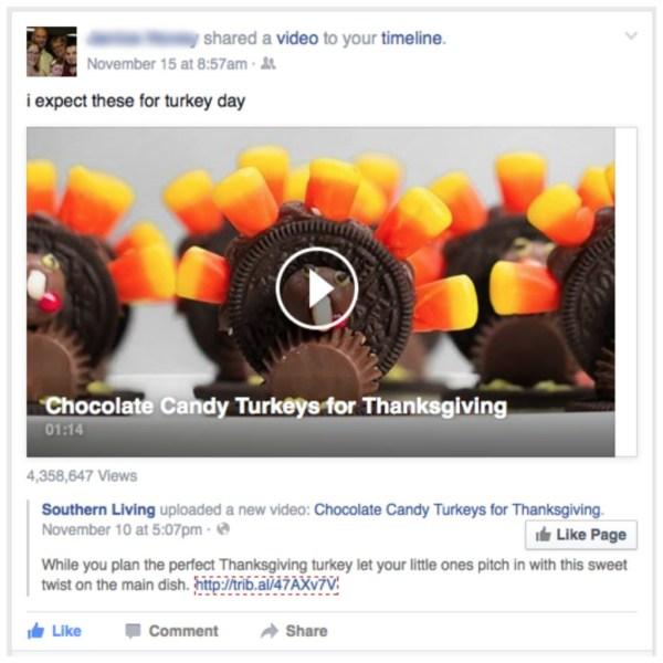 Turkey Day Treat
