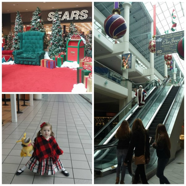 Santa at Emeral Square Mall
