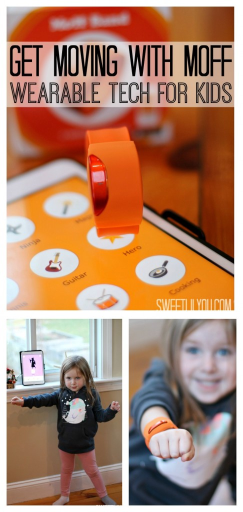 Get Moving With Moff Band - Wearable Tech for Kids - Active Apps for Children - sweetlilyou.com
