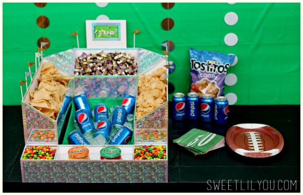 throw the perfect big game party