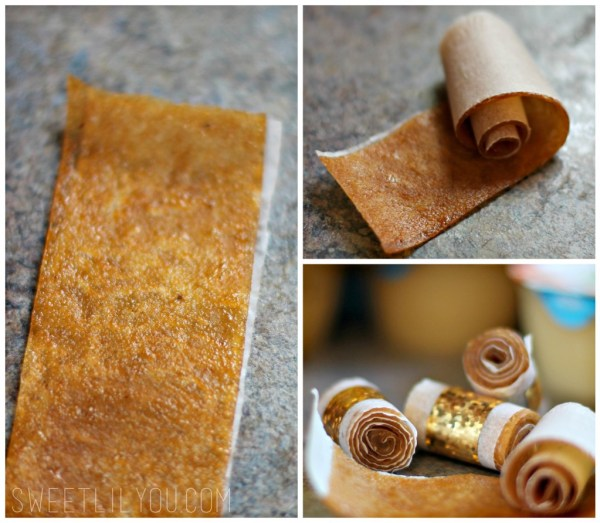 Make your own fruit roll ups fruit leather