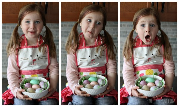 Easy Easter Egg dyeing for kids